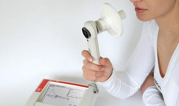 Spirometria o Test di Funzionalità Respiratoria